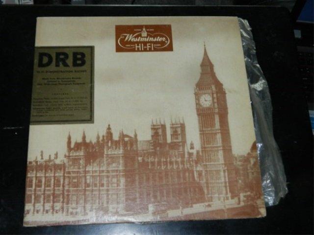 Westminster Hi-Fi Demonstration Record  LP