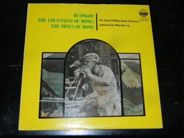 Respighi : The Fountains of Rome - Horvat  LP
