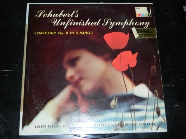 Schubert : Symphony No. 8  -  Toscali  LP