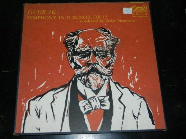 Dvorak : Symphony in D Minor  - Neumann  LP