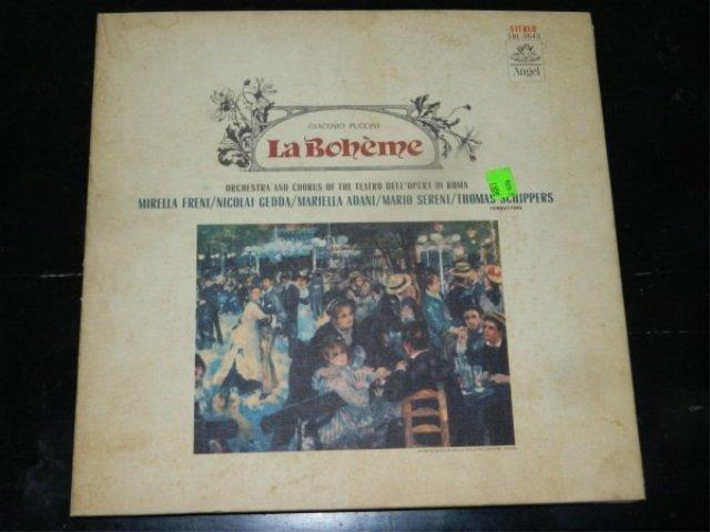 Puccini : La Boheme    2 LP SET