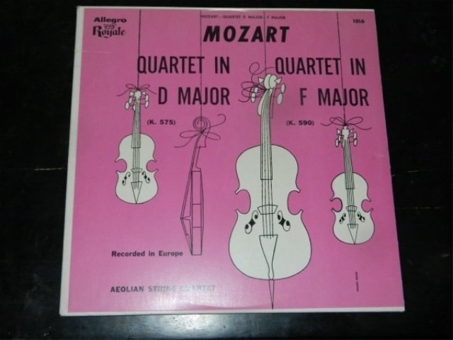 Mozart : Symphony 30 & 26   LP