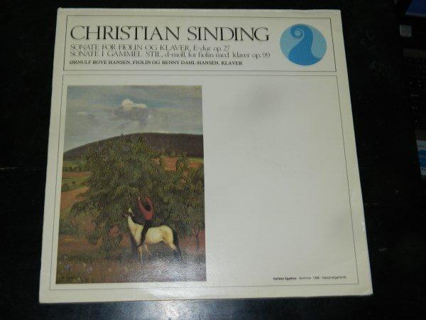 Sinding : Sonatas - Hansen    LP