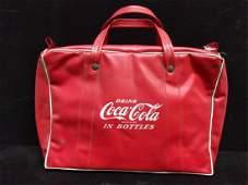 vinyl Coca Cola cooler bag