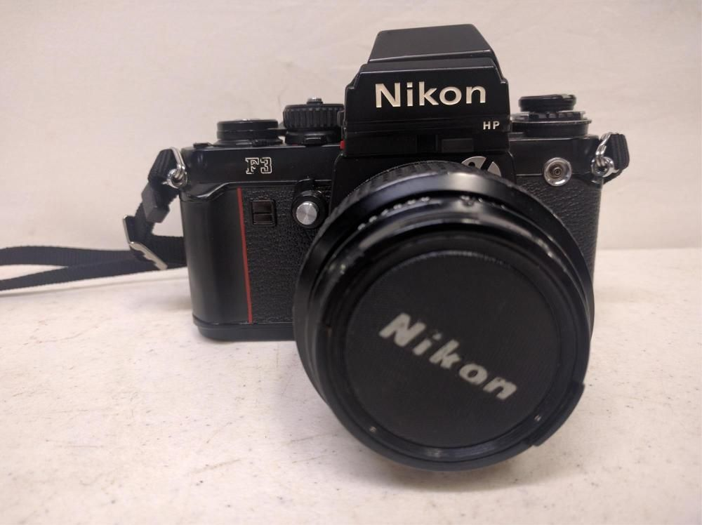 Vintage Nikon F3 HP 35MM camera
