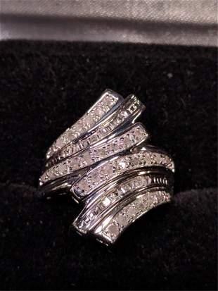 1 Ct diamond dinner ring