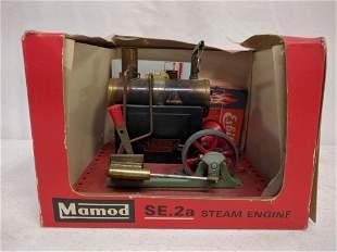 Mamod SE2a toy steam engine
