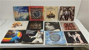 24 Vintage Rock  Roll 33 rpm record albums