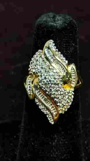 large diamond estae ring