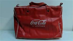 Vintage Coca Cola Vinyl Cooler