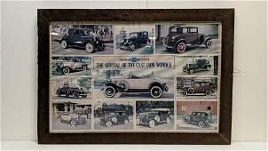 Framed Auto photos from Auto Dealership