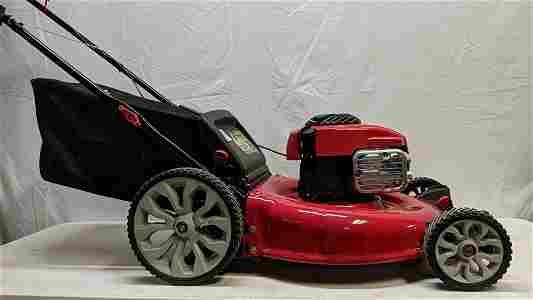 Troybilt TB110 mower with mulcher rear bag