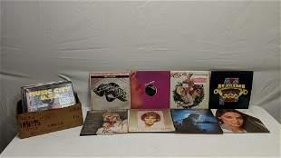 54 vintage rock & roll record albums