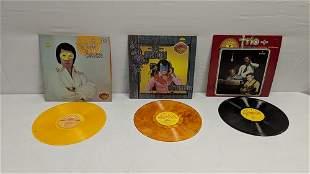 3 vintage sun label record albums