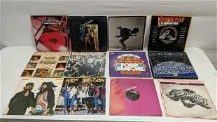 20 vintage assorted rock & roll albums