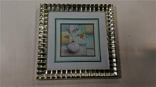 Framed floral still life by Uttermost Products