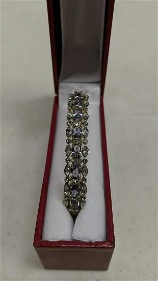 5 1/2 Ct. Amethyst Bangle Bracelet