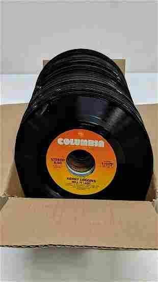 87 45RPM records