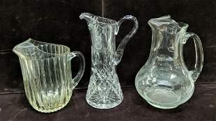 6 pcs clear glass