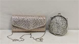 2 beaded purses