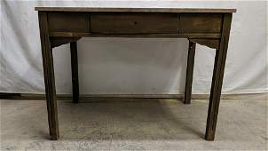 Antique Kitchen table with marble top