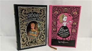 2 leather bound books