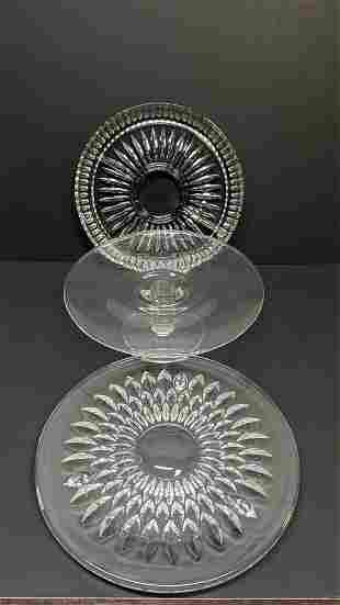 pieces of vintage crystal