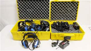Digicom Wireless headphones and tramsmitters