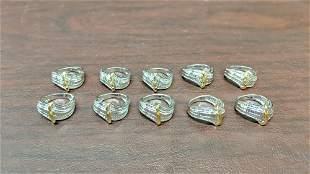 10 Diamond Rings