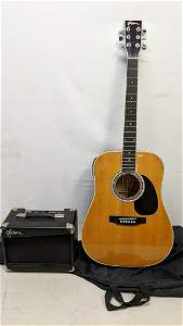 Esteban AL-100 Acoustic /electric Guitar