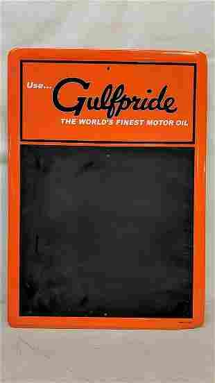 Gulfpride Menu Board