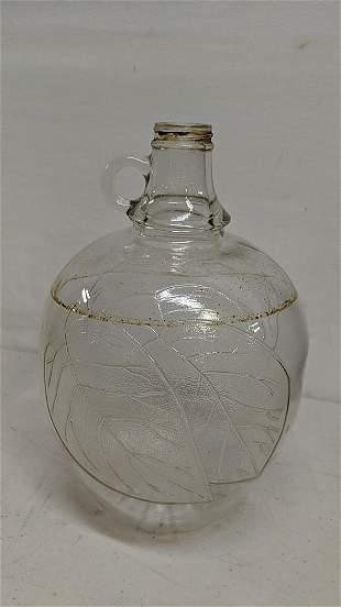Vintage Apple Cidar Vinegar jar