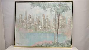Stephen Kaye Spatula oil on canvas