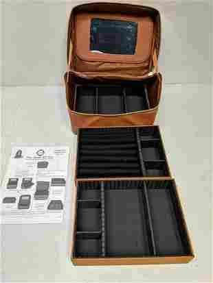 Joy Mangano Jewel Kit Tower Trio travel bag