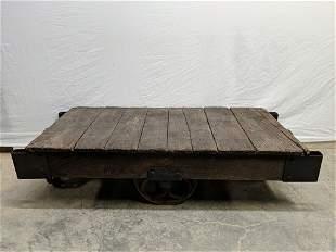 Industrial Railroad cart