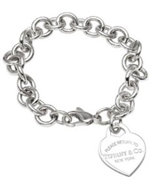 Ladies Authentic Tiffany & Co. Sterling Silver Return t