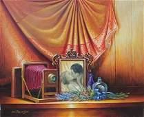 Beautiful Original Acrylic on Canvas by Avi Belaish