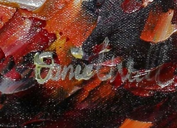 Hand Signed Original Oil on Canvas by Daniel Wall - 2