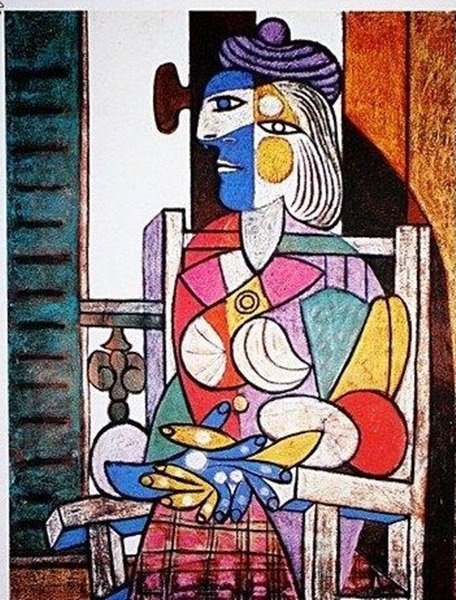"""Pablo Picasso """"Woman Seated by the Window"""" Signed Limit"""