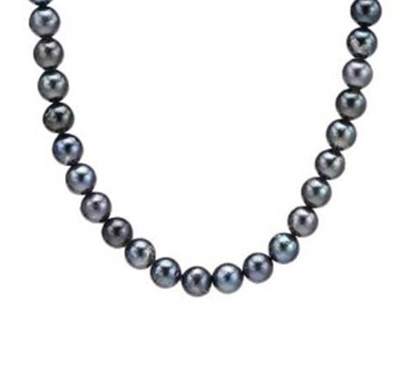 Freshwater Pearl 10k White Gold Necklace