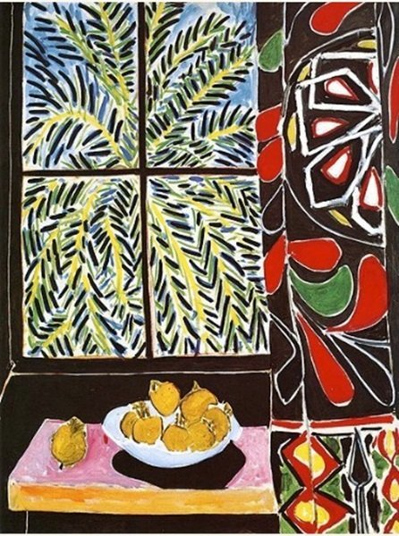 "Signed Limited Edition Henri Matisse ""The Egypitan Curt"