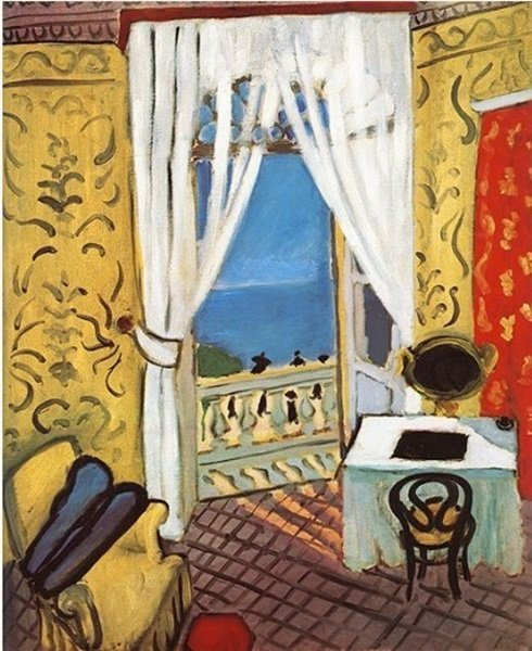 "Signed Limited Edition Henri Matisse ""Interior with Vio"
