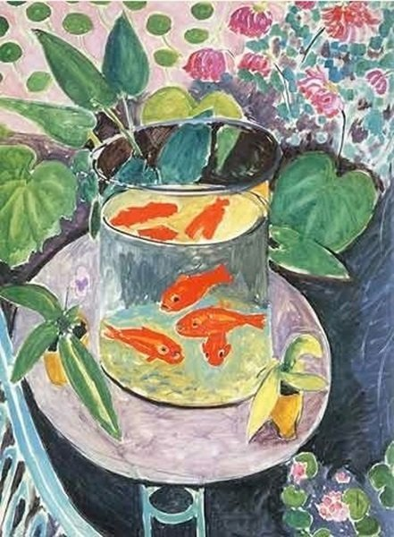 "Signed Limited Edition Henri Matisse ""Red Fish"""