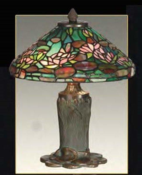 Waterlily Shade  Lamp
