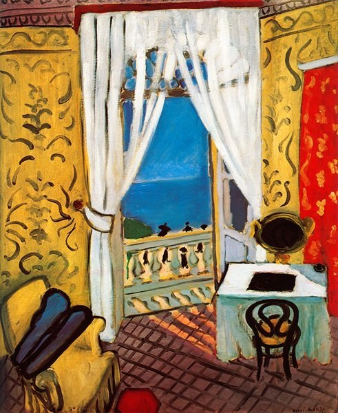 Interior with A Violin Case - Matisse - Signed Limited