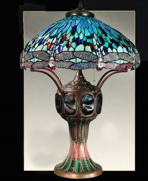 Blue Dragonfly  Lamp