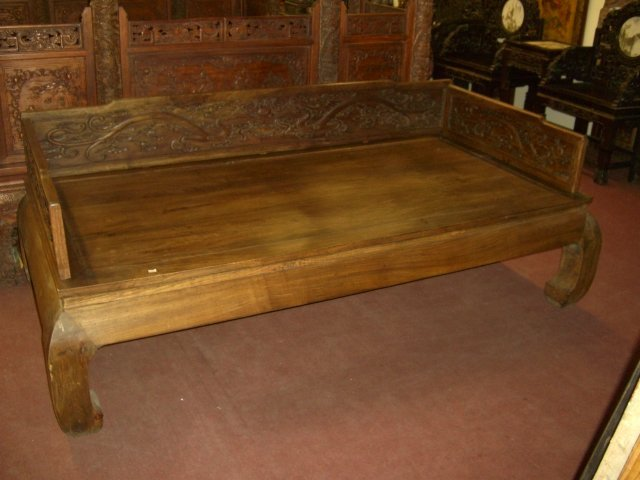 HARDWOOD LUO HAN BED