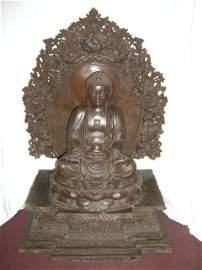 Brass Tibetan Buddha