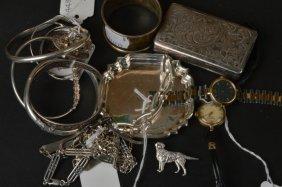 A 19th century Continental silver snuff box, the l