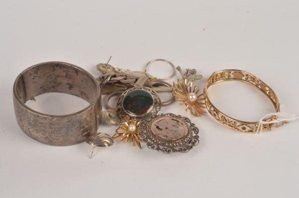 A silver bangle by R P H Jewellery Co Ltd, Birming